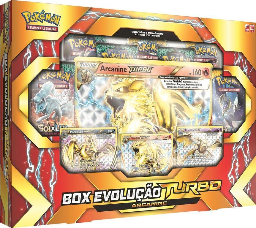 da8f9e197 Pokémon Box Evolução Turbo Arcanine | Sulnaipes